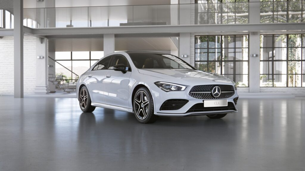 MERCEDES-BENZ CLA-KLASSE CLA 180 d Coupé Launch Edition