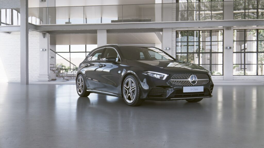 MERCEDES-BENZ A-KLASSE – A 200 d Business Solution –
